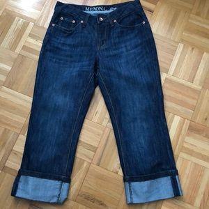 Merona Cropped Cuffed Jeans